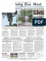 The Daily Tar Heel for Sept. 9, 2015