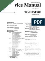 Panasonic Tc-21pm30r
