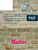 matter (introduction and properties)