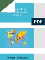 Evolucic3b3n de La Manufactura en La Historia