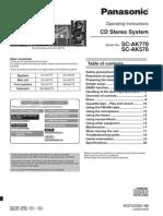 manual equipo de sonido