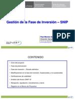 Gestion de La Fase de Inversion Snip Abril 2015 PROV OYO