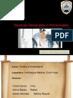 NAGAS- Normas Generales o Personales