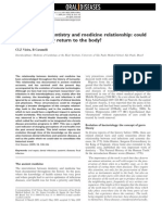 The istory f dentistry and medicine relationship