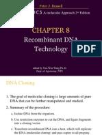 Ch8 Recombinanat DNA technology