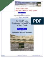 Haj Umrah or Holy Picnic ENG