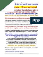 Arte Milenar de Ter Boa Saúde Com a Cebola - {Foxit Reader PDF Printer}