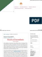 Ascendants Lagna SPecial Characteristics Article