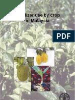Fertilizer Use Malaysia