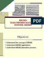 EE503 - 07 MEMS