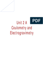 Coulometric Methods of Analysis