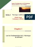 Cours thermique bâtiment_Souga