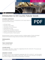 Introduction to OCTG Syllabus
