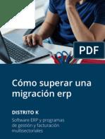 Cómo superar una migración de un software ERP