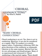 Basic ChoraL Conducting