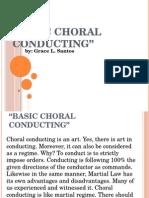 Basic ChoraL Conducting