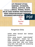 Prinsip-prinsip Etika Keperawatan