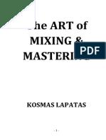 Kosmas Lapatas - The Art of Mixing & Mastering BOOK