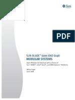 Sun Blade 6000 Family Architecture White Paper