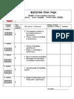 Plan Rada OST
