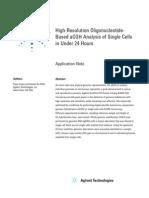 HiResOligonucleoutide ACGH Analysis Under24Hrs AppNote5991-0643EN