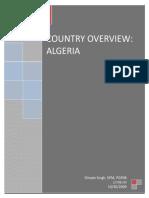 Algeria - Country Analysis
