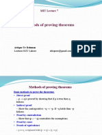 methods of proving theorems