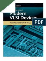 Fundamentals Of Modern Vlsi Devices Yuan Taur Pdf