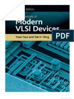 Fundamentals of Modern VLSI Devices by yuan taur and tak h ning