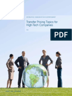 Transfer Pricing Topics for High Tech Companies