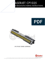 HP CP1025 Toner Reman Eng