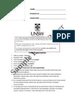 MINE3230 Mine Planning Sample Exam