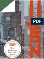 ZuntCatalog Monolithic Insulating Joint