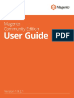 Magento Community Edition User Guide