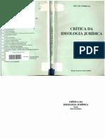 CORREAS, Óscar. Crítica Da Ideologia Jurídica