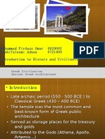 Greek Architecture, 0629005, 0721499