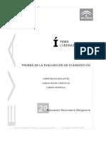 Evaluación diagnóstica competencia lingüística_2º ESO_Andalucía 2006_2007