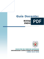 GIQ Guia Docente Bioquímica Industrial 2015 FINAL