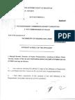 Contre Affidavit DPP 7 Sept 15