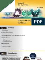 Fluent Multiphase 16.0 L04 Gas Liquid Flows