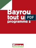 Bayrou Tout Un Programme