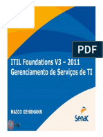 Aula ITIL Fundation v3