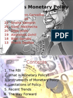 RBI Monetary Policy Final