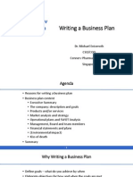Entzeroth_Writing a Business Plan