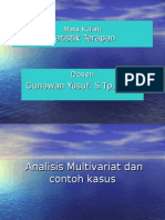 Analisis Multivariat