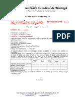 Formulario - Carta de Recomendacao - 1-2015