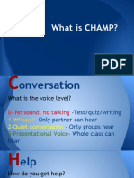 what is champ-