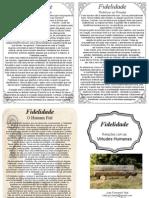 Projetoserhumano.virtudes.fidelidade