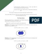 Basic Set Operations