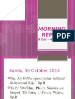 Morning Report 4 Nov 2014